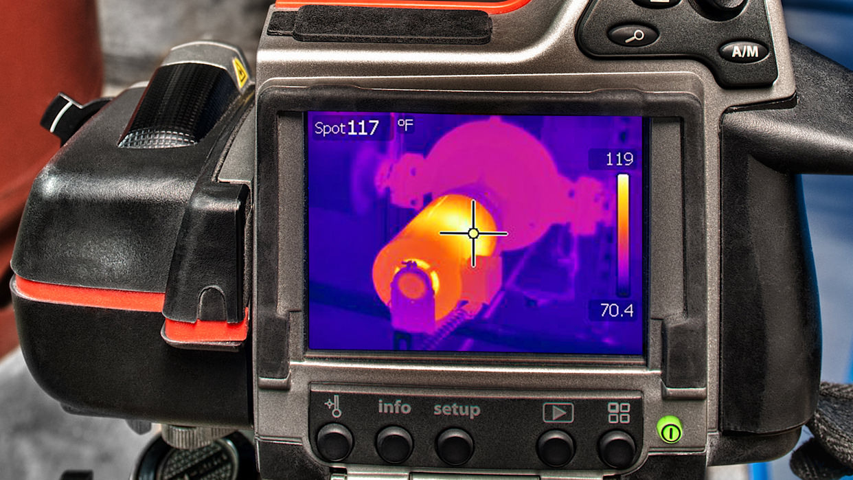 Services Commissioning Thermography