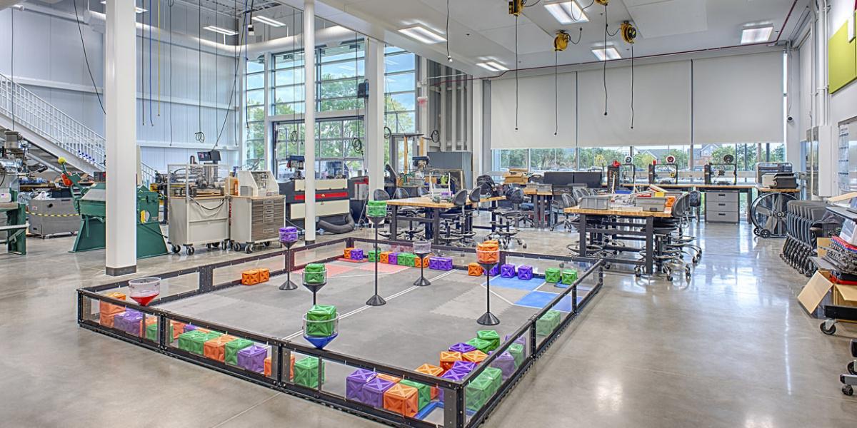 Markets Education Higher Ed Robotics
