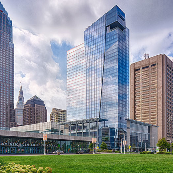 Hilton Cleveland Downtown Exterior Tile